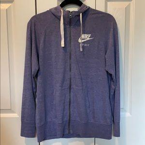 Nike light cotton hoodie